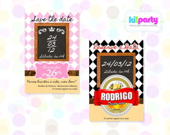 Save The Date Magn�tico 9x5cm Tema: Bar