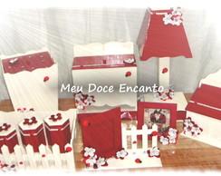 Kit Higiene Beb� Joaninha