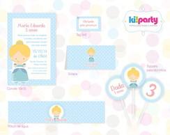 Kit Festa P Tema: Cinderela Baby