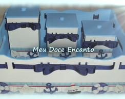 Kit Higiene Beb� Marinheiro