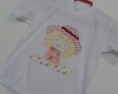 Camiseta Moranguinho Infantil