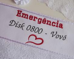 Toalha Emerg�ncia 0800 Disk Vov�