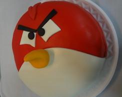 Bolo Cenogr�fico Dos Angrybirds