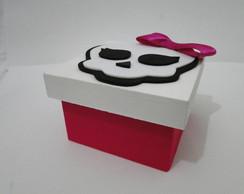 Caixa em MDF porta-doces Monster High