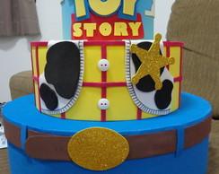 Bolo Cenogr�fico/Falso do tema Toy Story