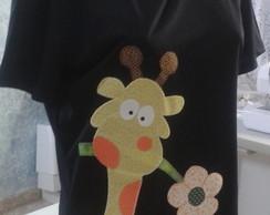Camiseta Girafinha