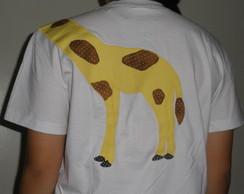 Camiseta com aplica��o