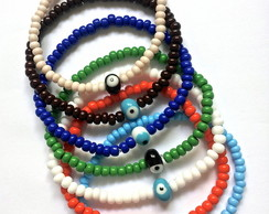 Conjunto pulseiras de mi�angas