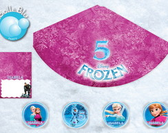 Frozen Kit Digital 10 Festa Disney