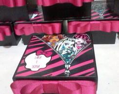Caixa Em Mdf Monster High