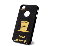 Capa de Iphone Mustache