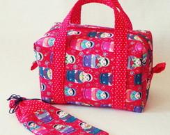 Lunch Bag T�rmica com Porta Talher