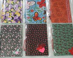 Caderno capa flex�vel 40fls color