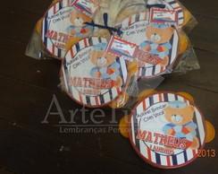 Pandeirinho - ursinho marinheiro