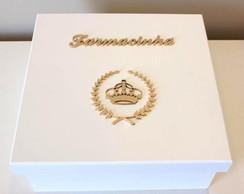 Farmacinha Monograma Com Coroa Princesa