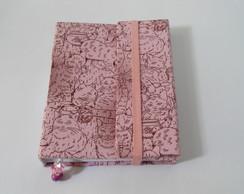 Caderno  Gatos com porta caneta