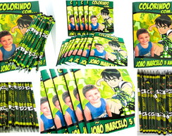 Revista colorir Ben10