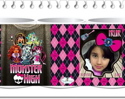 Caneca Monster High  com FOTO