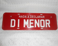 Placa di menor
