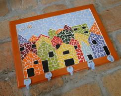 Porta Chaves com mosaico