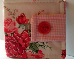 Porta Absorventes Red Rose