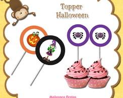 Topper para docinhos - Halloween