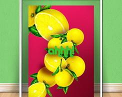 Quadro Laranjas Ahhh - Poster de Frutas