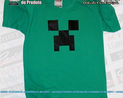 Camiseta Minecraft Creeper Infantil