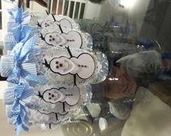 Garrafa de �gua decorada