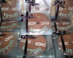 CD de Chocolate na Caixinha