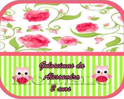 Adesivo Marmitinha 12x9 - Po� Rosa
