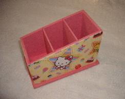Porta Controle Remoto Hello Kitty (star)