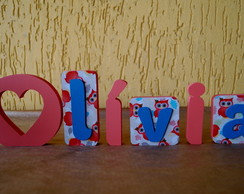 Nome Decorativo MKM7