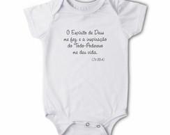 Body/Camiseta Frases - O Esp�rito