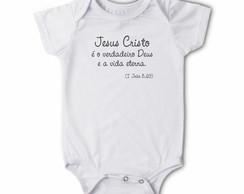 Body/camiseta Frases - Jesus Cristo