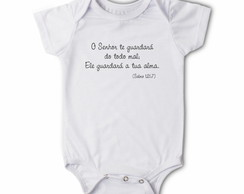 Body/camiseta Frases - Guardar� tua alma