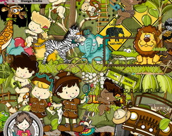 Jungle kit (Tema Safari)