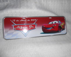 Placa carros Alfeu Jr.