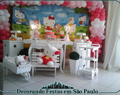 Decora��o Clean Mesa Hello Kitty