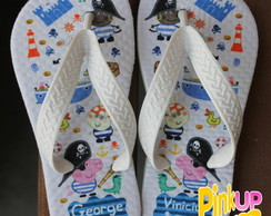 Chinelo George Pirata