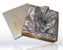Caixa dourada para padrinhos