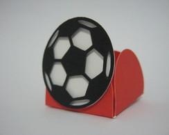 Forminha doce Bola do Flamengo-25unidade