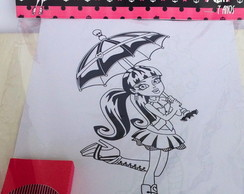 Kit Para Colorir Monster High