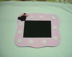 Porta Retrato da Minnie rosa