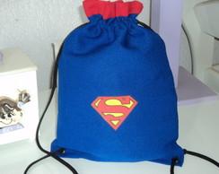 Mini Mochilinha Super Homem