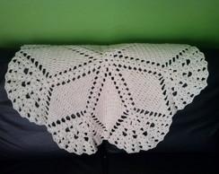 Manta de Croch� para sof�. Pronta Entreg