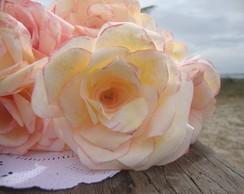 Buqu� de flores de papel perfum�vel