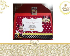 Convite Simples Minnie