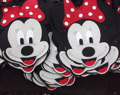 Sacola Minnie vermelha com 20 pe�as