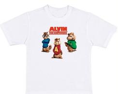 Camiseta Alvin E Os Esquilos